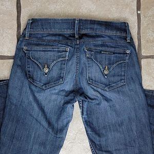 Hudson Jeans Collin Flap Skinny Jeans 26 X